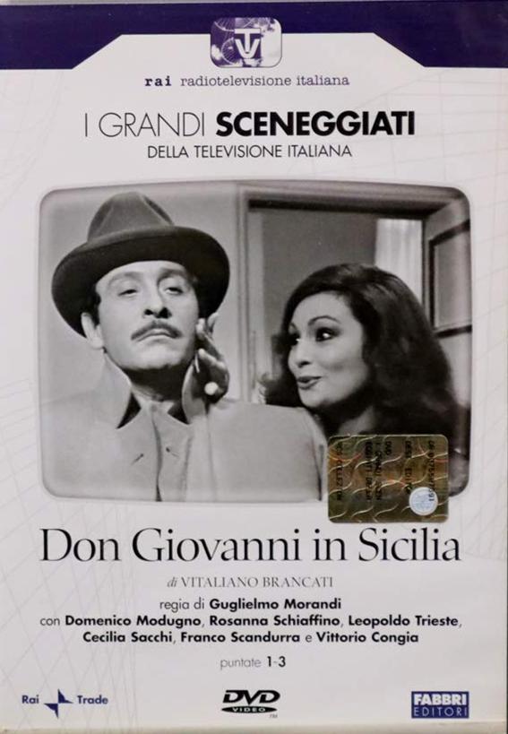 COF.DON GIOVANNI IN SICILIA (2 DVD) ED.EDICOLA (DVD)
