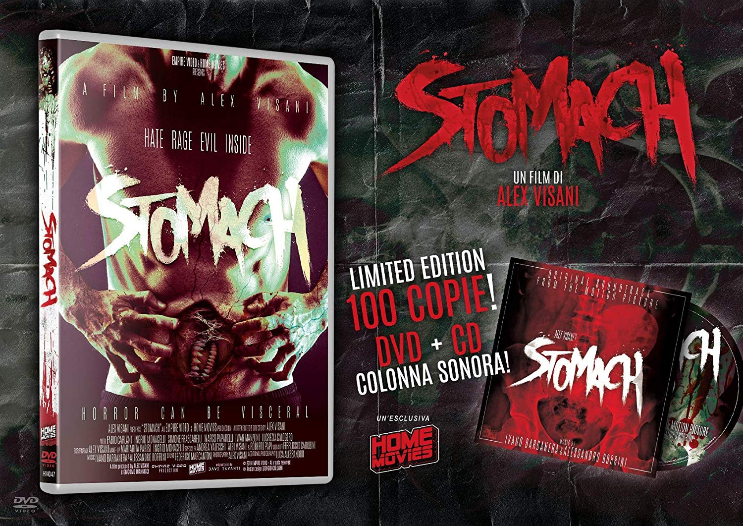 COF.STOMACH - LIMITED EDITION 100CP + CD SOUNDTRACK (DVD)