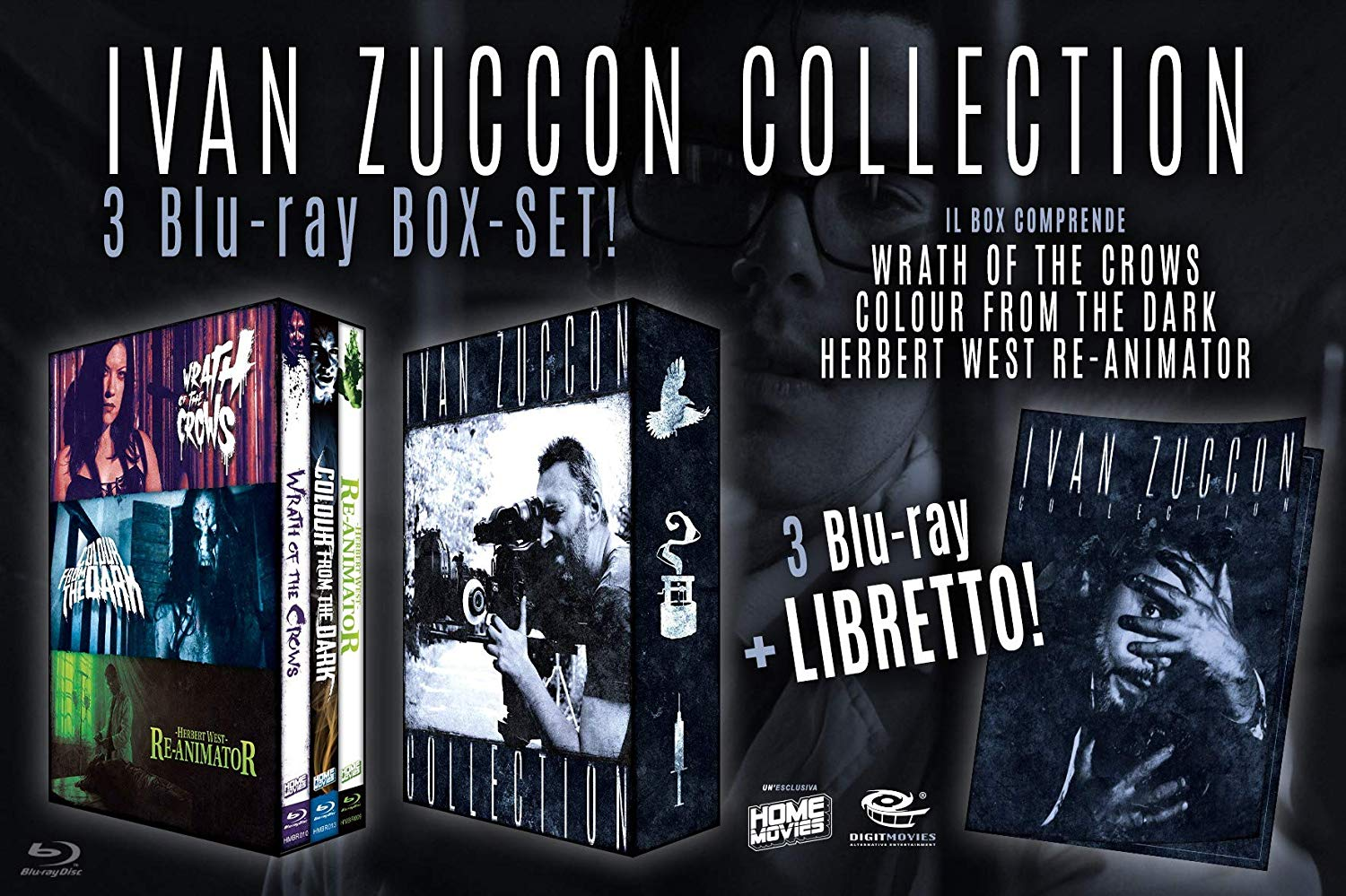 COF.IVAN ZUCCON COLLECTION - LIMITED EDITION 50CP (3 BLU_RAY + B