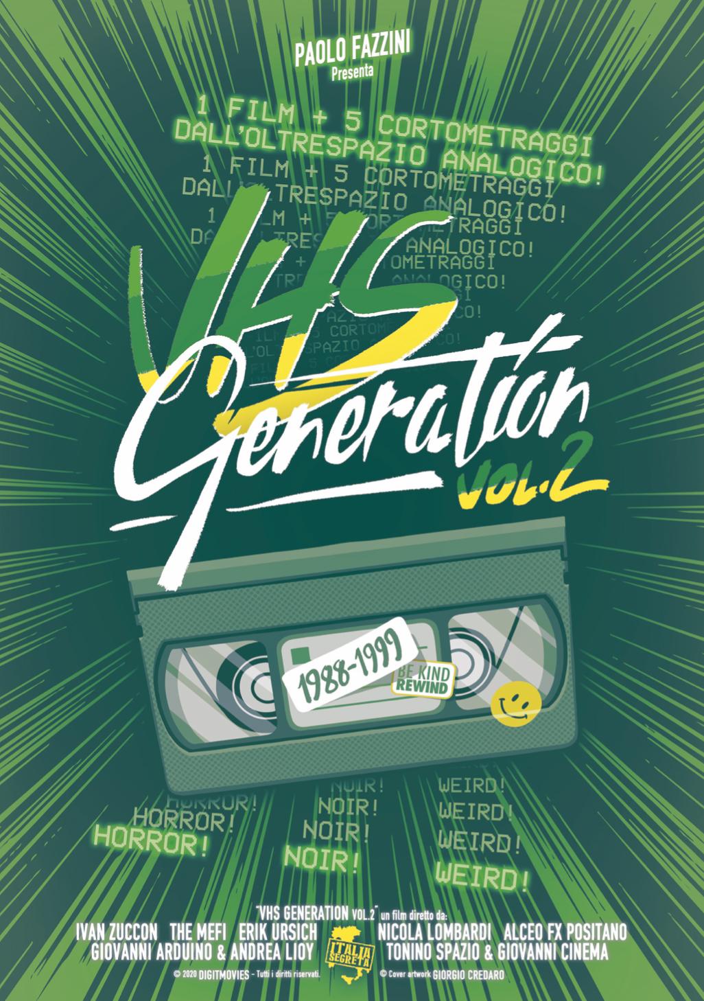 VHS GENERATION VOL. 2 (DVD)