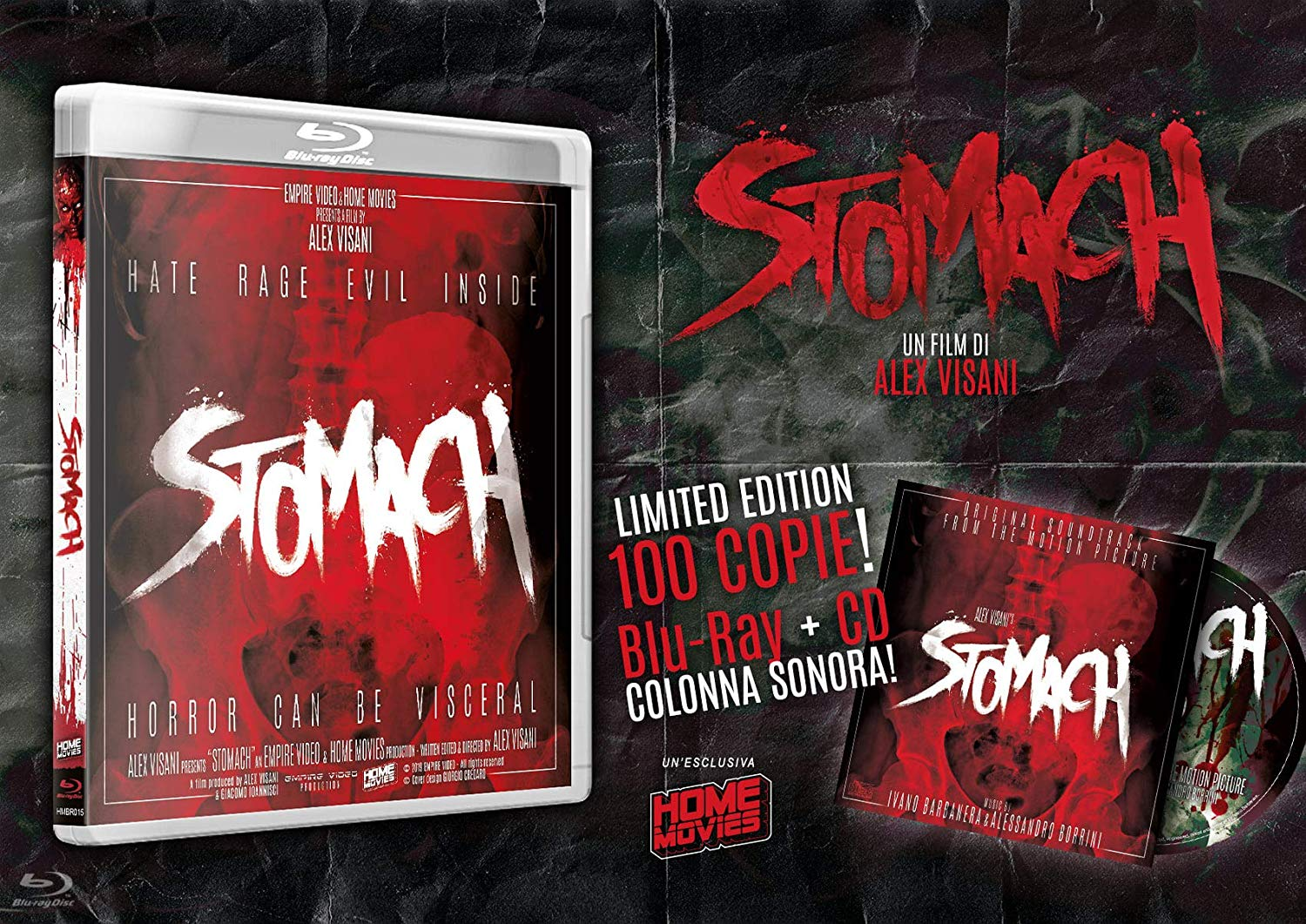 COF.STOMACH - LIMITED EDITION COVER B 100CP + CD SOUNDTRACK