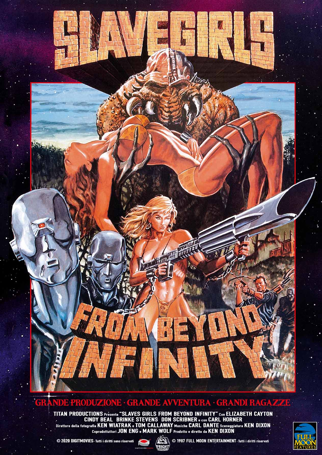 SLAVE GIRLS FROM BEYOND INFINITY - BLU RAY