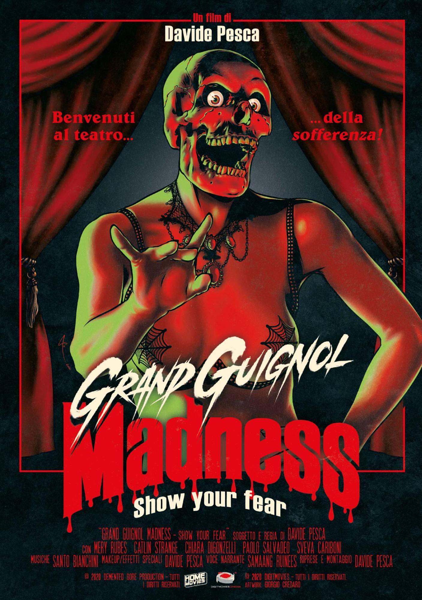 GRAND GUIGNOL MADNESS - SHOW YOUR FEAR (DVD)