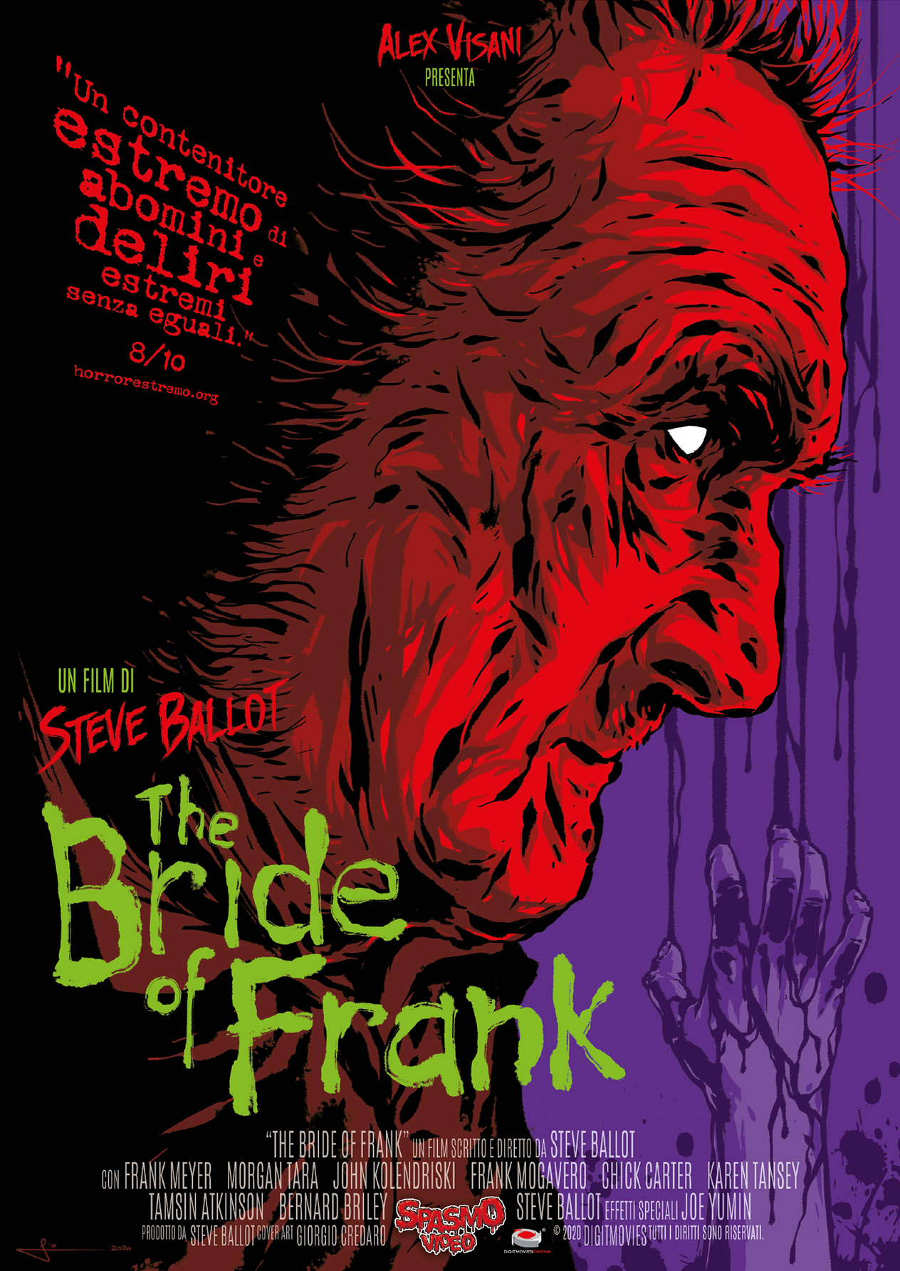 THE BRIDE OF FRANK (DVD)