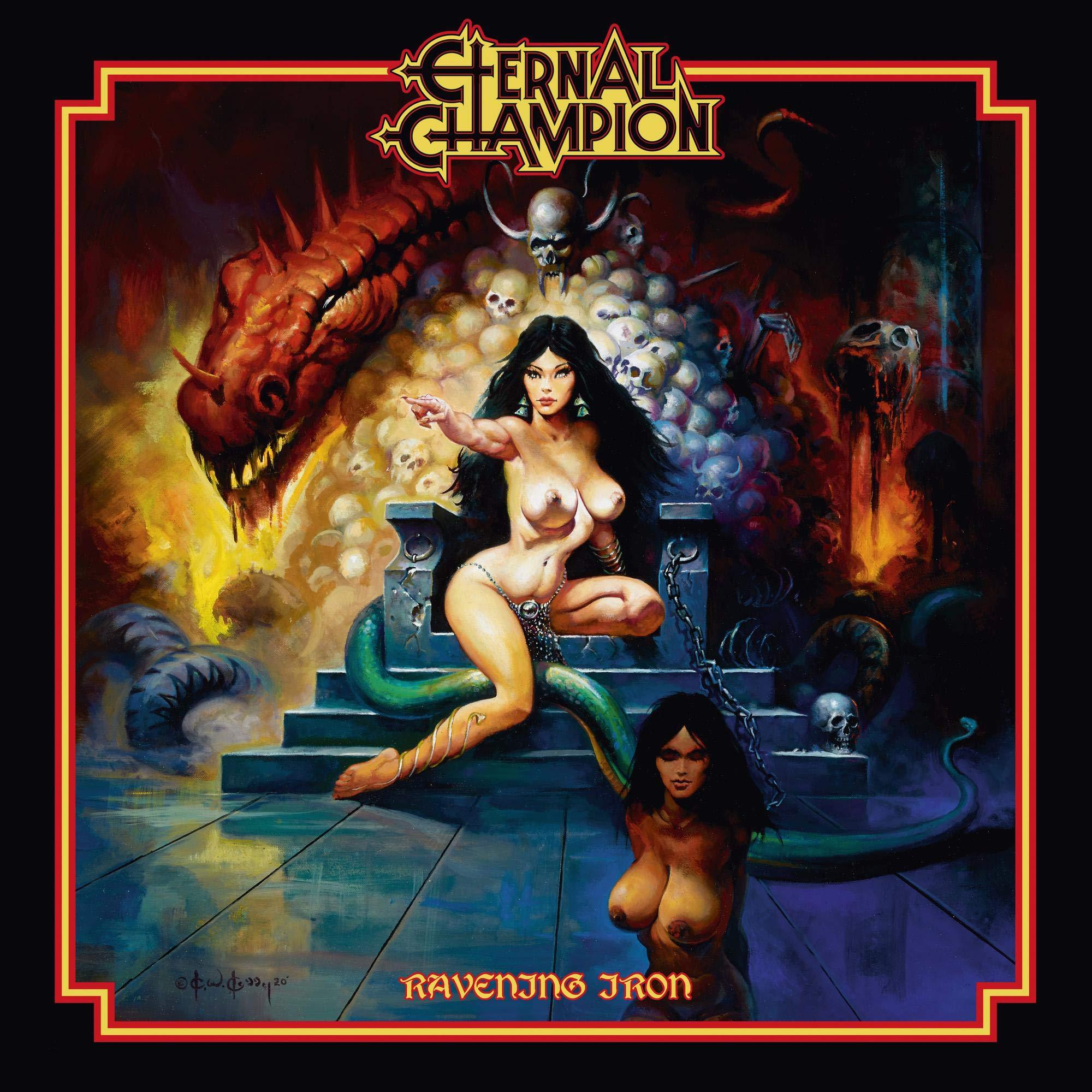 ETERNAL CHAMPION - RAVENING IRON (CD)