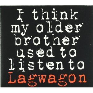 LAGWAGON - I THINK MY OLDER BROTHER USED TO LISTEN TO... (CD)