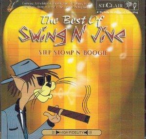 THE BEST OF SWING N'JIVE STEP STOMP'N' BOOGIE -2CD (CD)