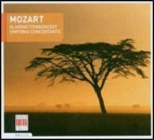 MOZART CONCERTO PER CLARINETTO - SINFONIA CONCERTANTE (CD)
