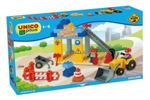 ANDRONI GIOCATTOLI 8526-0000 - CANTIERE UNICO PLUS COMPATIBILE LEGO DUPLO