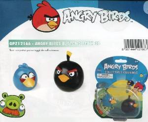 ANGRY BIRDS - PERSONAGGI 3D - BLISTER 2 PZ