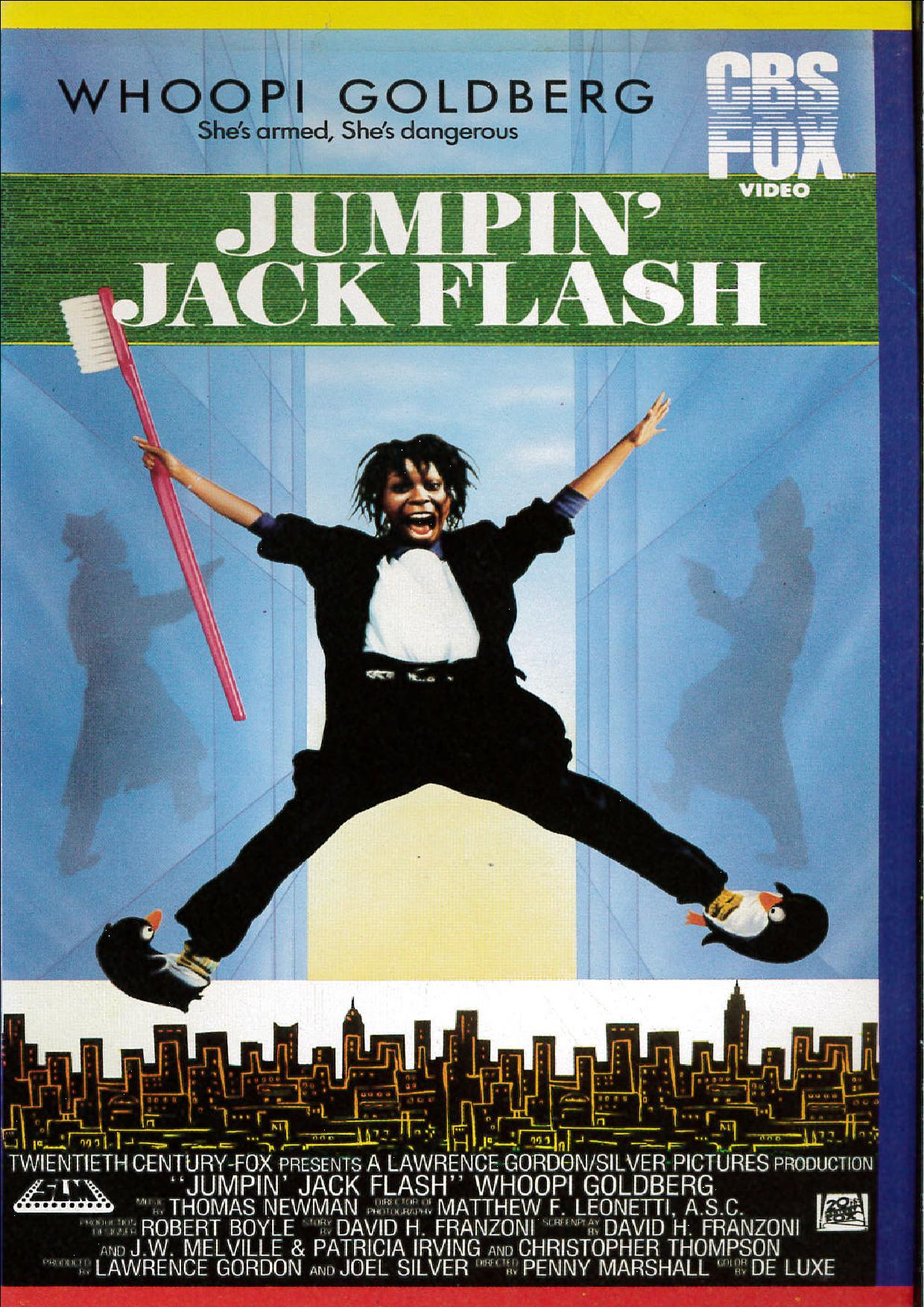 JUMPIN' JACK FLASH (VHS USATA) (VHS)