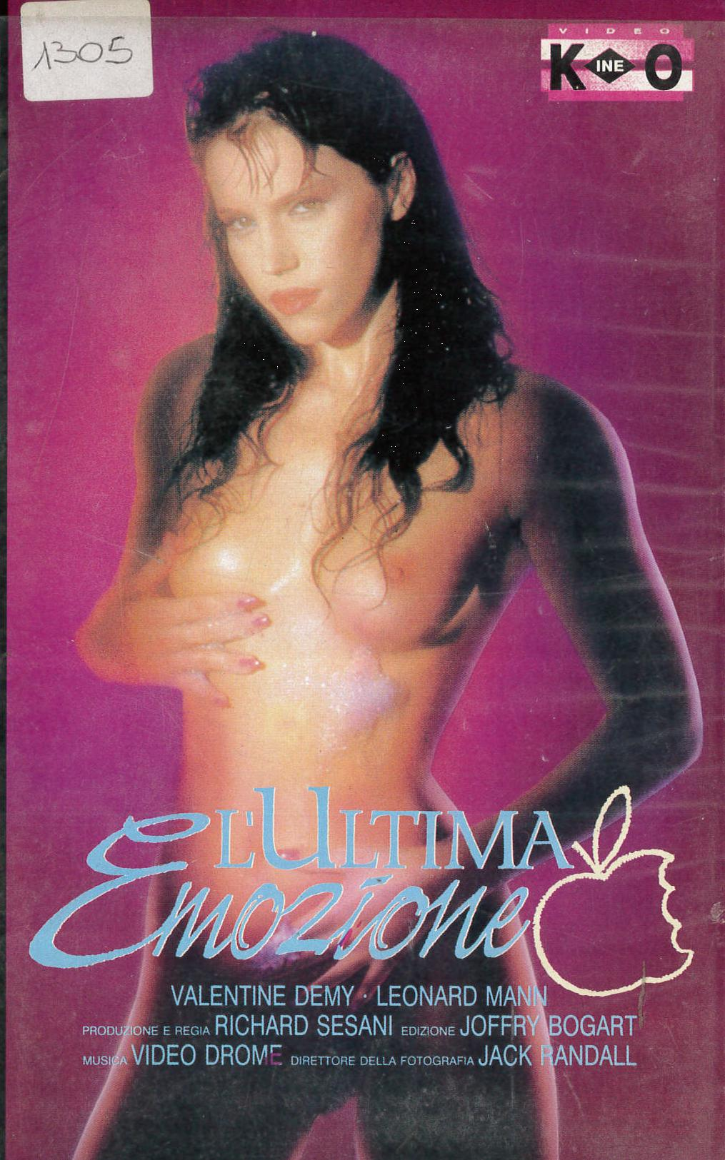 L'ULTIMA EMOZIONE - VHS EX NOLEGGIO (VHS)