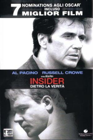 INSIDER DIETRO LA VERITA' (DVD)