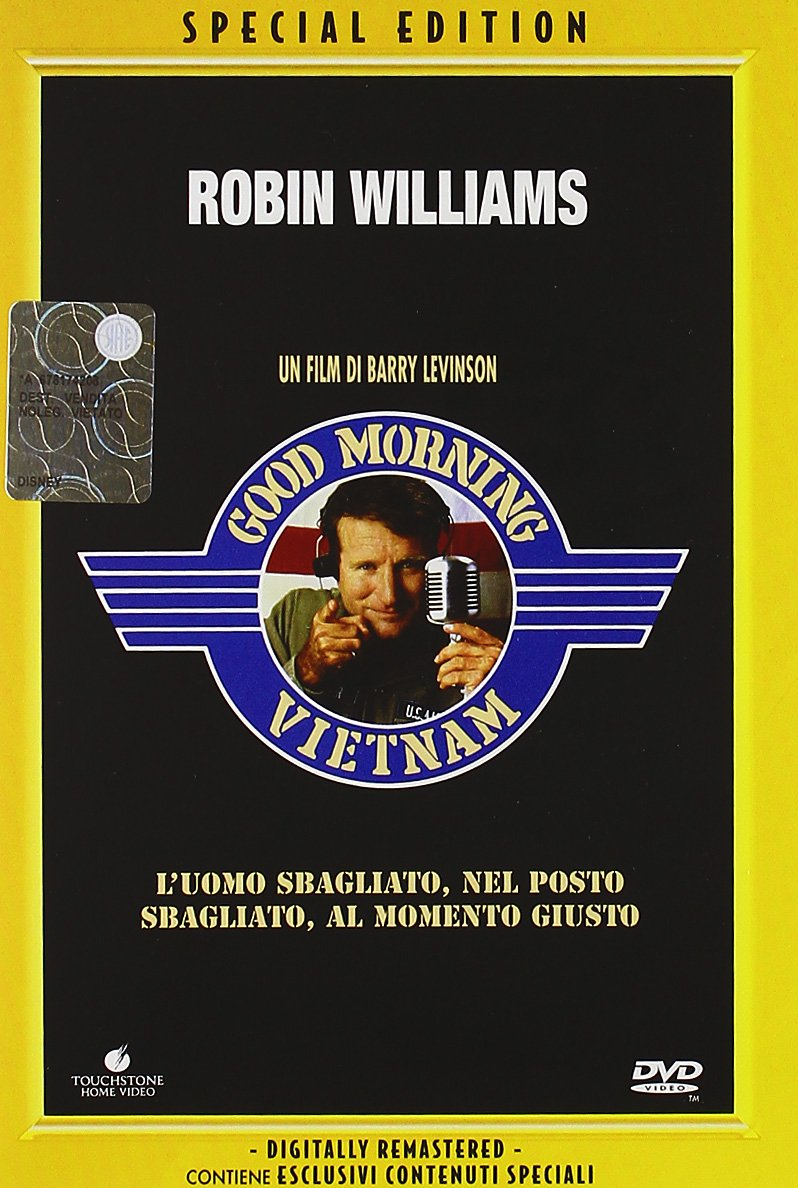 GOOD MORNING VIETNAM (DVD)