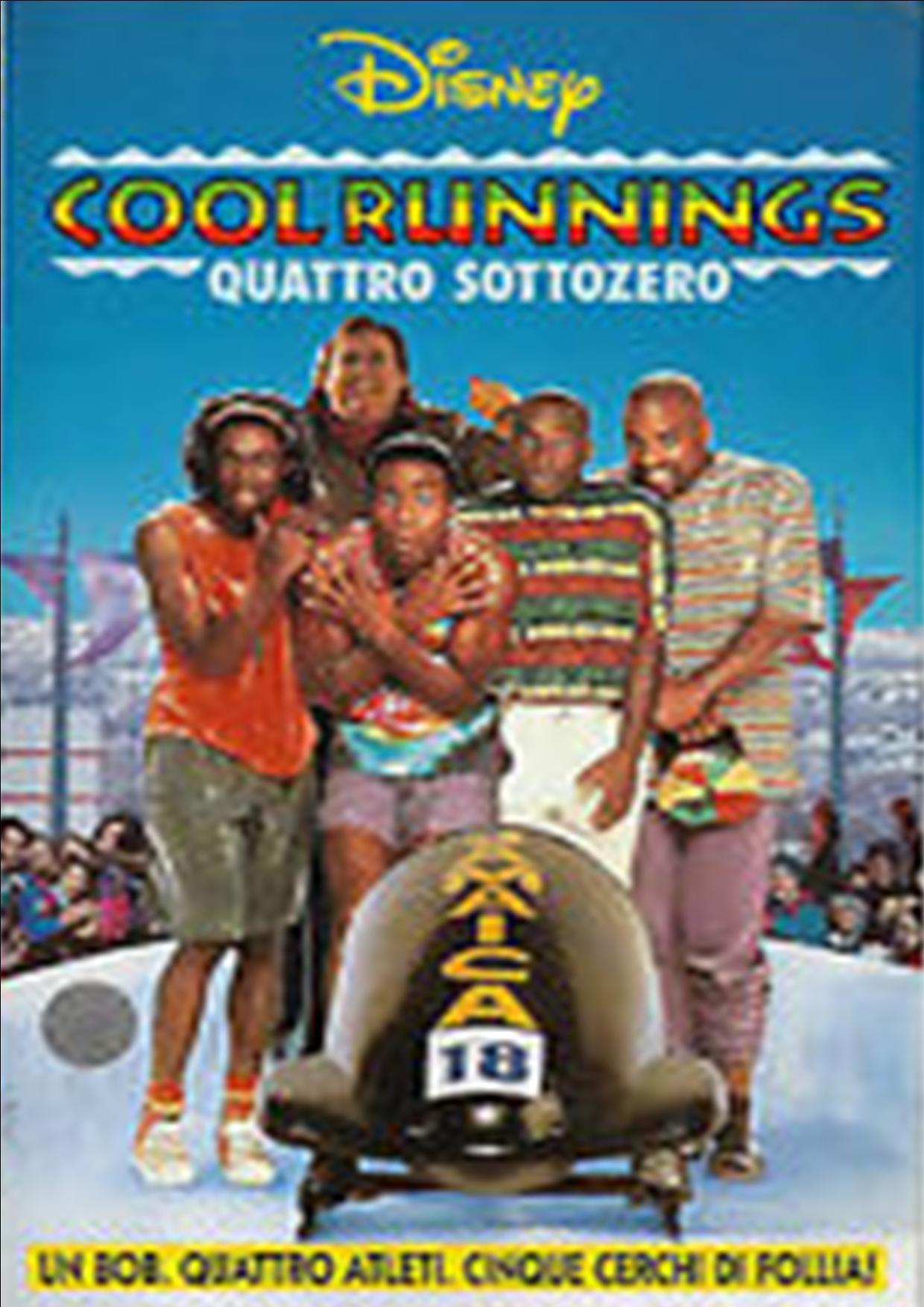 COOL RUNNINGS - QUATTRO SOTTOZERO (VHS USATA EX NOLEGGIO) (VHS)