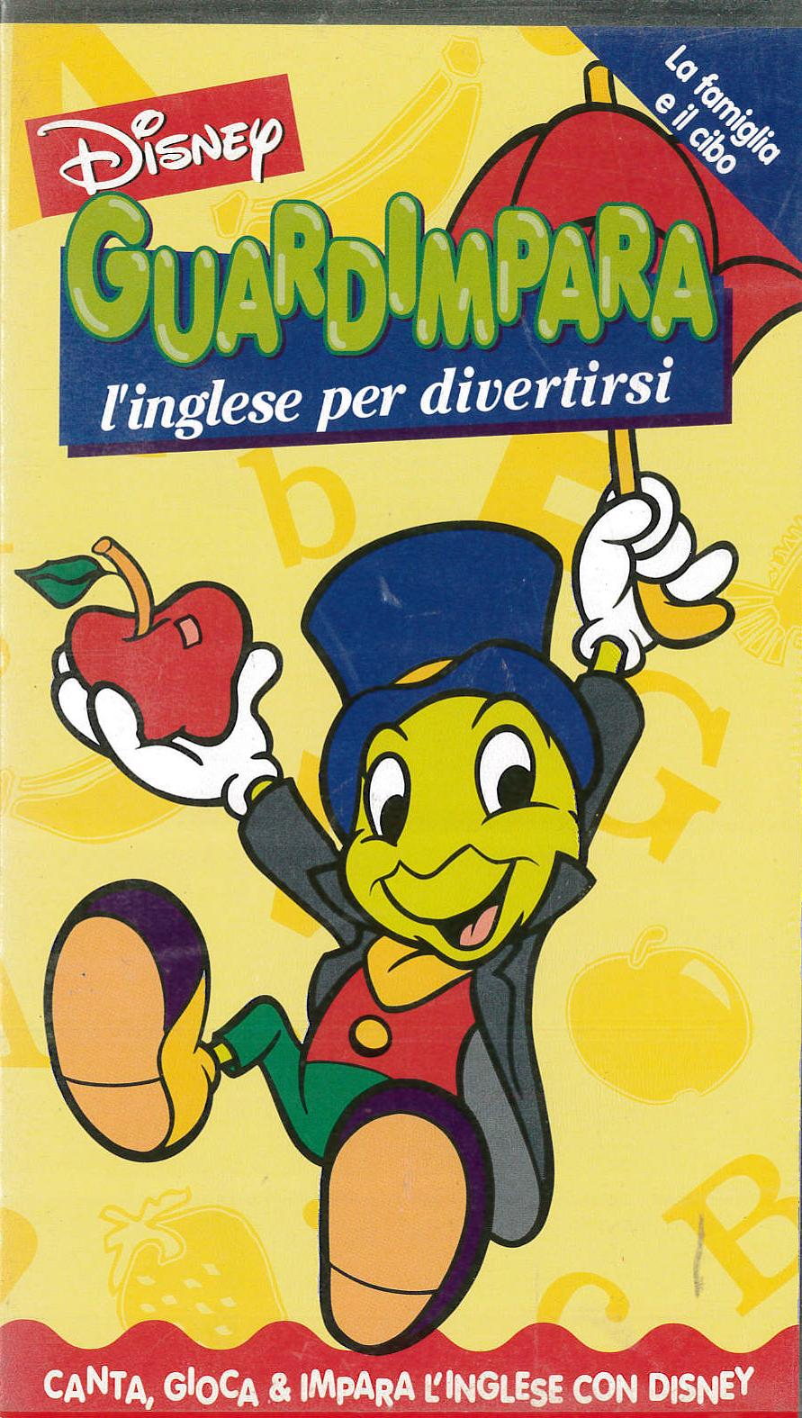 GUARDIMPARI L'INGLESE PER DIVERTIRSI - VHS EX NOLEGGIO (VHS)