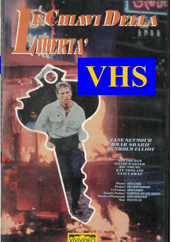 LE CHIAVI DELLA LIBERTA' (VHS)