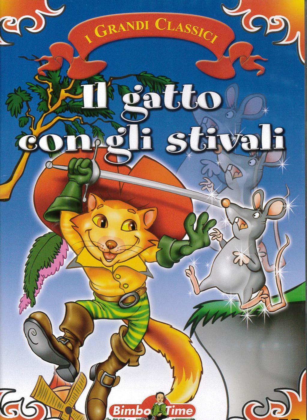 IL GATTO CON GLI STIVALI (DVD)