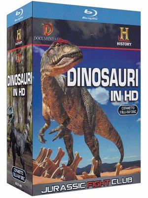 COF.DINOSAURI IN HD - JURASSIC FIGHT CLUB (5 BLU-RAY)