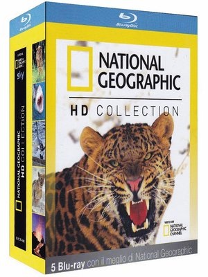 COF.NATIONAL GEOGRAPHIC IN HD (5 BLU-RAY)