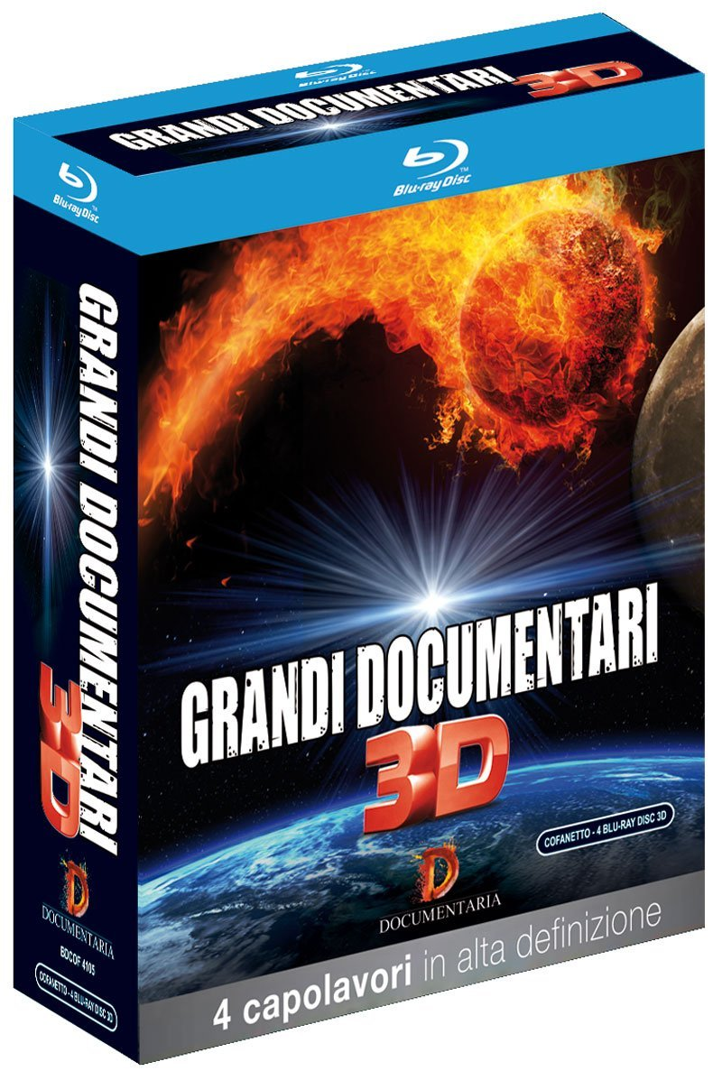 COF.GRANDI DOCUMENTARI 3D (4 BLU-RAY 3D)