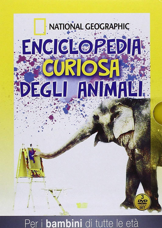 COF.ENCICLOPEDIA CURIOSA DEGLI ANIMALI (3 DVD) (DVD)