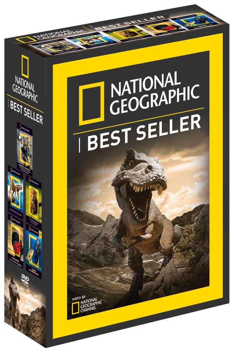 COF.NATIONAL GEOGRAPHIC - I BEST SELLER (5 DVD) (DVD)
