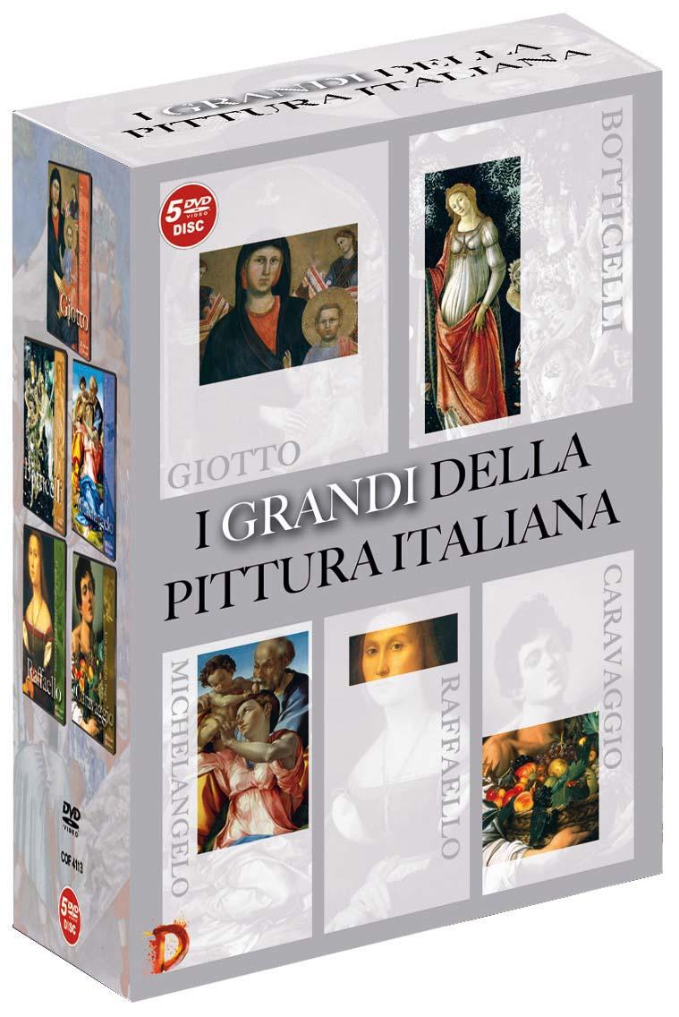 COF.I GRANDI DELLA PITTURA ITALIANA (5 DVD) - ESENTE (DVD)