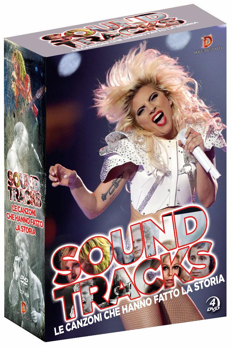 SOUNDTRACKS - LE CANZONI CHE HANNO FATTO LA STORIA (4 DVD) (DVD)