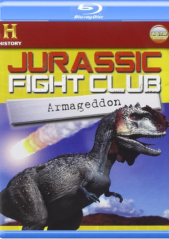 JURASSIC FIGHT CLUB - ARMAGEDDON (BLU-RAY+BOOKLET) - IVA ES.