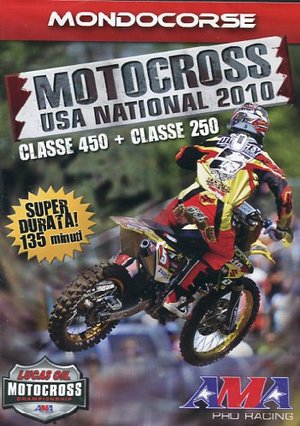 AMA MOTOCROSS USA NATIONAL 2010 (DVD+BOOKLET) IVA ES. (DVD)