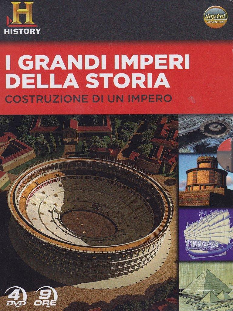 COF.I GRANDI IMPERI DELLA STORIA (4 DVD+LIBRO) - IVA ASSOLTA (DVD)