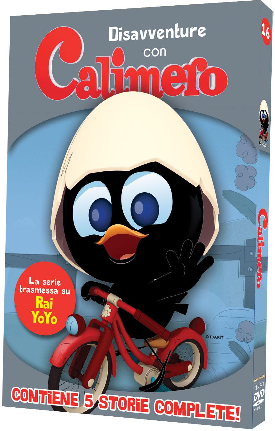 CALIMERO - DISAVVENTURE CON CALIMERO (DVD)