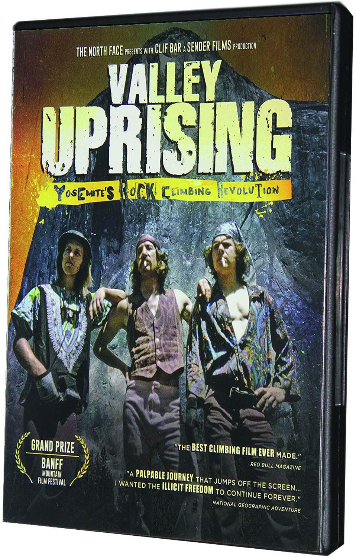 VALEY UPRISING - YOSEMITE'S ROCK CLIMBING REVOLUTION (DVD)