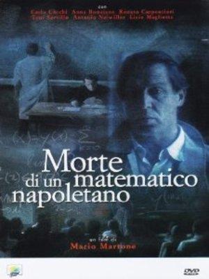 MORTE DI UN MATEMATICO NAPOLETANO (DVD)