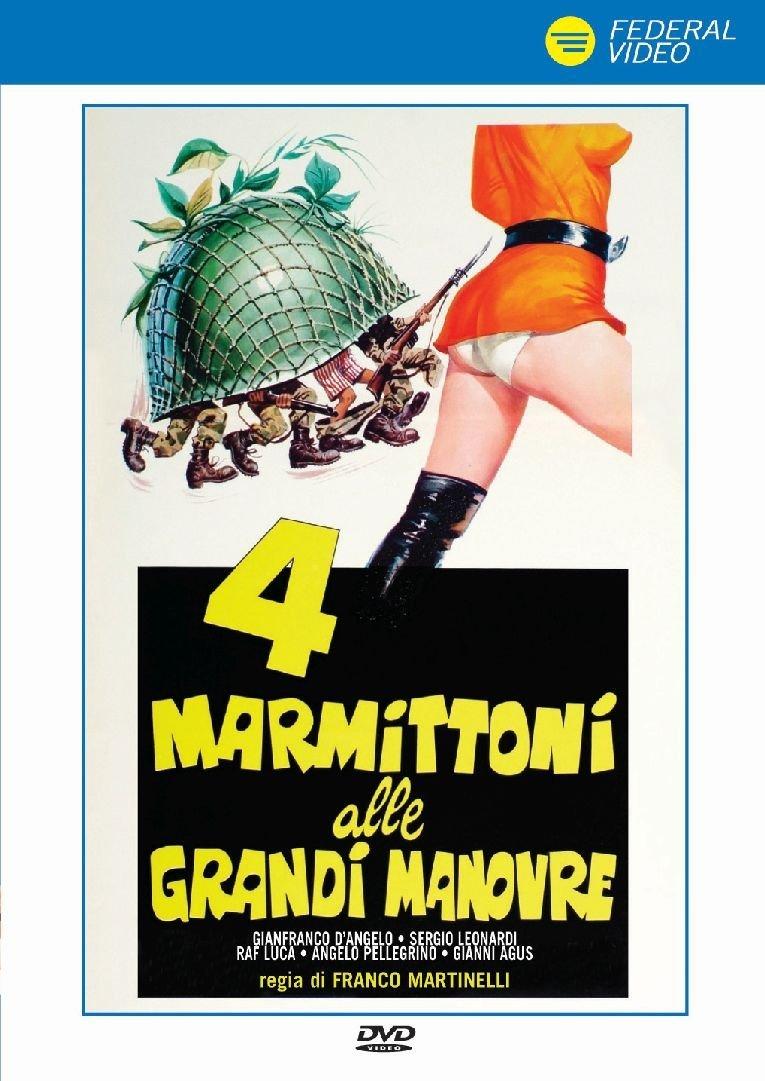 4 MARMITTONI ALLE GRANDI MANOVRE (DVD)