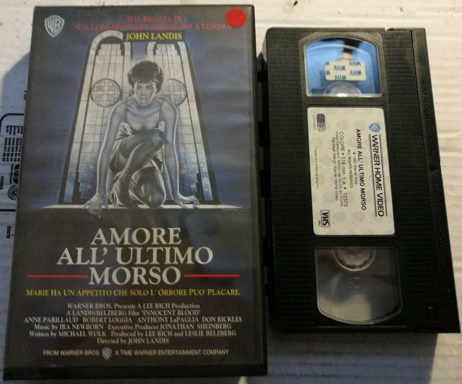 AMORE ALL'ULTIMO MORSO - VHS EX NOLEGGIO (VHS)