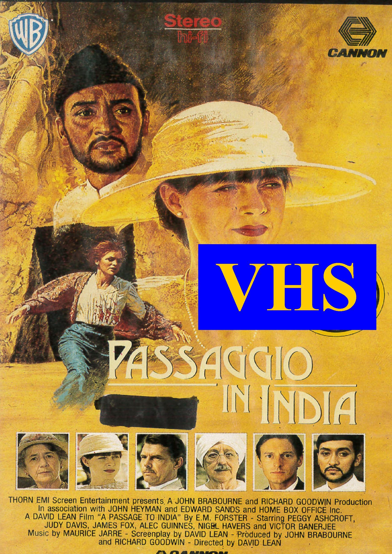 PASSAGGIO IN INDIA (VHS USATA EX NOLEGGIO) (VHS)