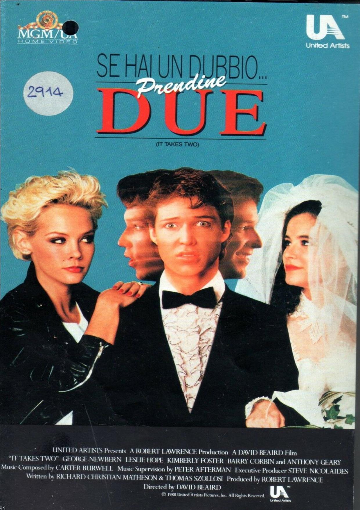 SE HAI UN DUBBIO... PRENDINE DUE (VHS USATA EX NOLEGGIO) (VHS)