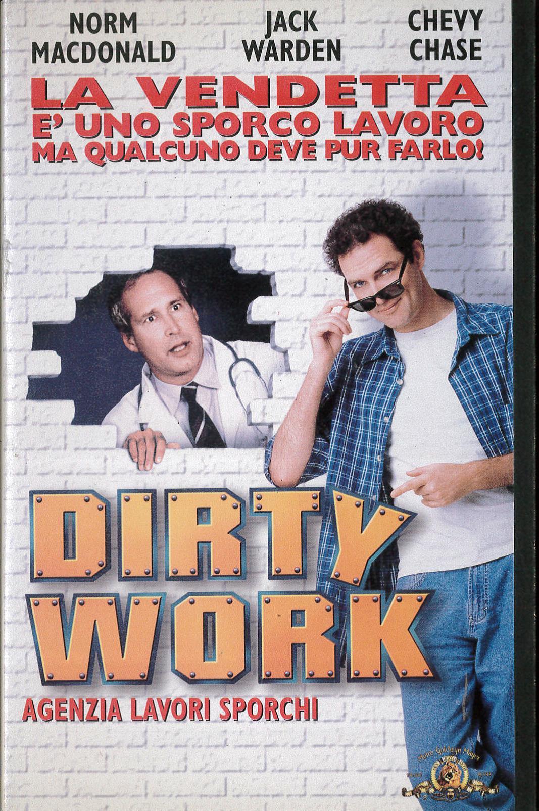 DIRTY WORK AGENZIA LAVORI SPORCHI - VHS EX NOLEGGIO (VHS)