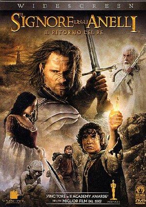 IL SIGNORE DEGLI ANELLI 3 IL RITORNO DEL RE (DIGIAPCK) (DVD)