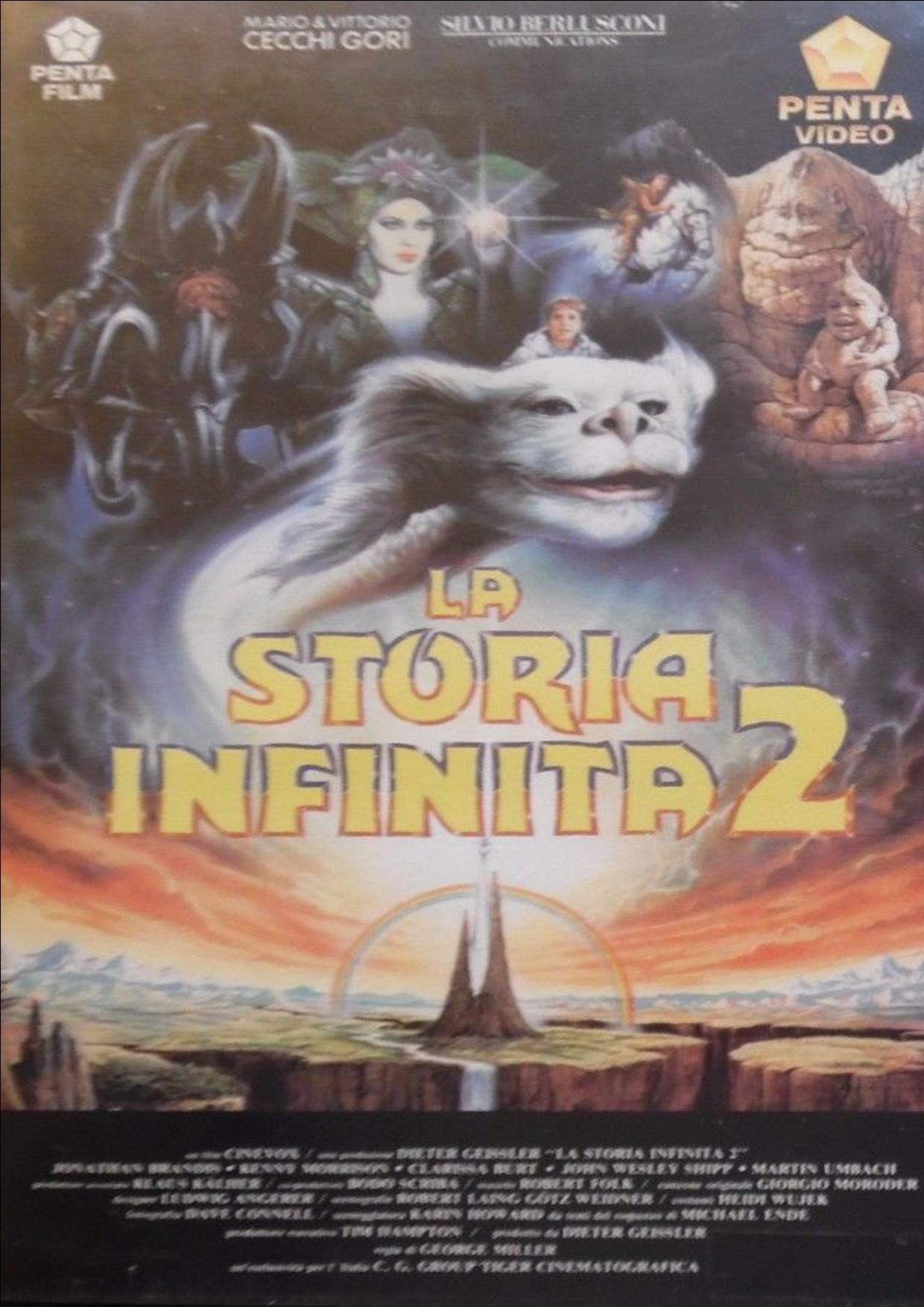 LA STORIA INFINITA 2 (VHS USATA EX NOLEGGIO) (VHS)