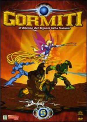 GORMITI 05 - L'INCANTESIMO DI MAGMION / FORESTA IN FIAMME (DVD)