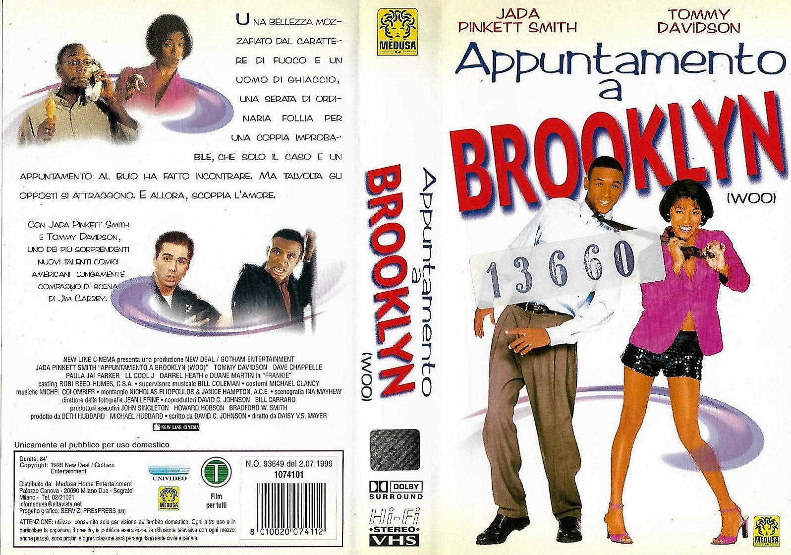 APPUNTAMENTO A BROOKLYN - USATO EX NOLEGGIO (VHS)