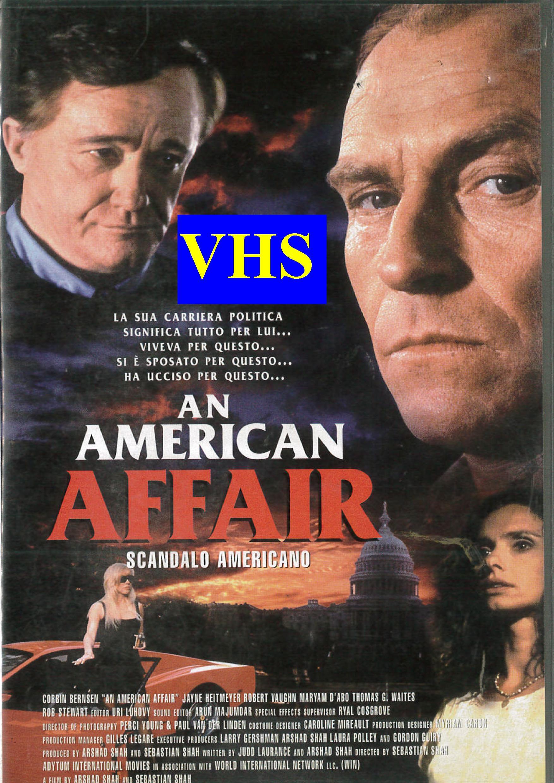 AN AMERICAN AFFAIR - USATO EX NOLEGGIO (VHS)