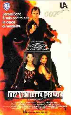007 VENDETTA PRIVATA mgm (VHS)