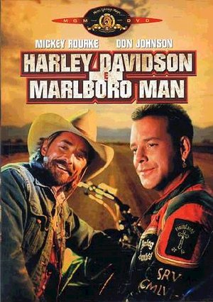 HARLEY DAVIDSON & MARLBORO MAN (DVD)