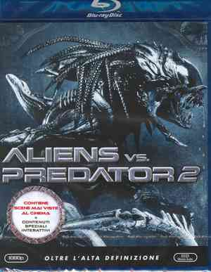 ALIENS VS PREDATOR 2 (BLU-RAY)