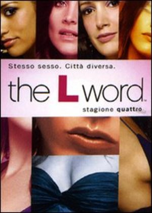 COF.THE L WORD - STAG.04 (4DVD) (DVD)