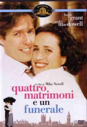 4 MATRIMONI E UN FUNERALE (DVD)